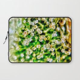 Cascade Trichomes Skywalker OG Kush Strain Close Up View Laptop Sleeve
