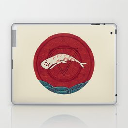 The Devil Roams These Waters Laptop & iPad Skin