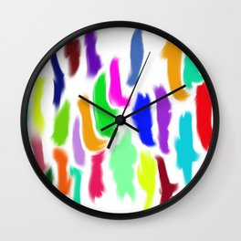 Colors of Humanity Wall Clock
