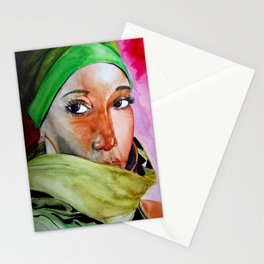 african Eyes Stationery Cards