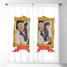 Richard, le beau centenaire Blackout Curtain