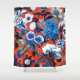 Romantic Garden IX Shower Curtain