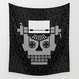 Writer's Block Wall Tapestry