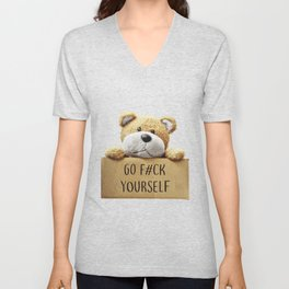 Go F#ck yourself with Unisex V-Neck