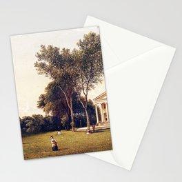 West Farms The T H Faile Esq Estate 1873 By David Johnson   Reproduction   Romanticism Landscape Pai Stationery Cards
