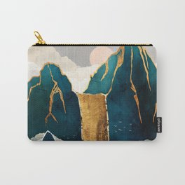 Golden Waterfall Carry-All Pouch