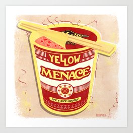 YM Noodles: Campbell's Art Print