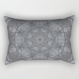 Mandala of My Indigo Light Rectangular Pillow