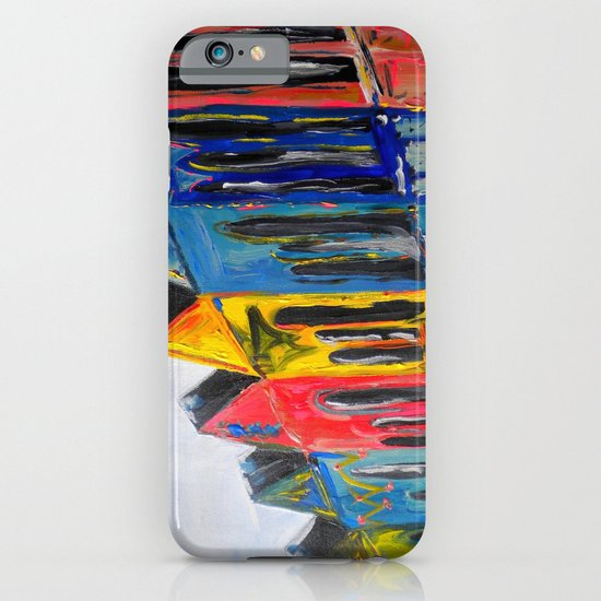 Rainbow Row iPhone & iPod Case