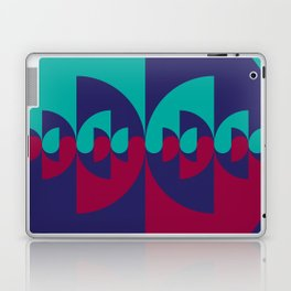 Geometric No. 38 ying-yang variation 4 Laptop & iPad Skin