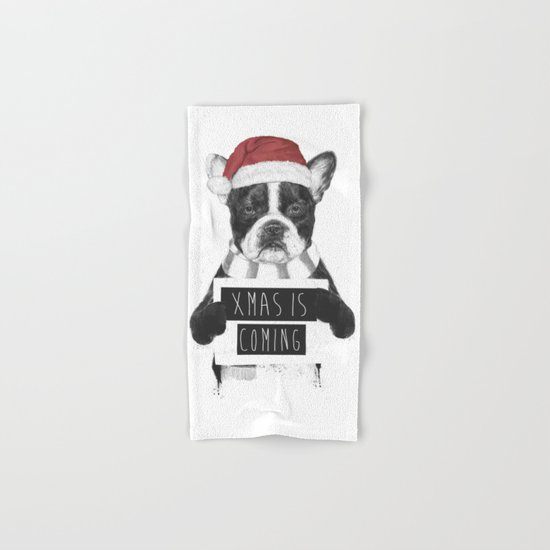 Xmas is coming Hand & Bath Towel
