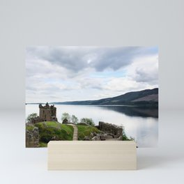 Urquhart Castle on Loch Ness Mini Art Print