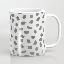 Simply Ink Splotch Green Tea on Lunar Gray Coffee Mug
