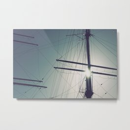 Sailor in the sun Metal Print