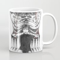 hannibal Mugs featuring Hannibal by Lunzury