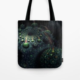 Corals of the Dark Water Tote Bag