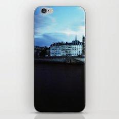 Paris at Dusk: Ile de la Cite iPhone & iPod Skin