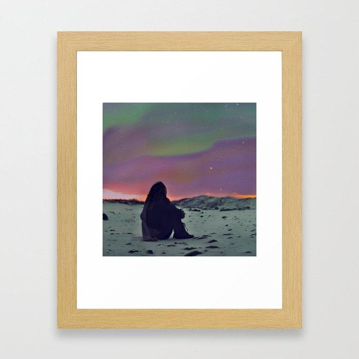 55/365 Framed Art Print