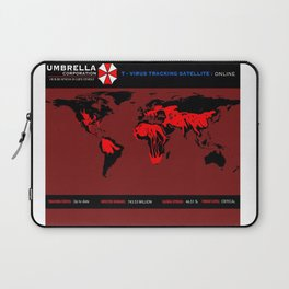 Umbrella Corp T-Virus Tracking Software Laptop Sleeve