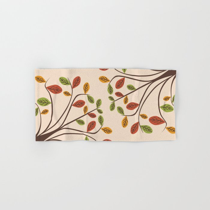 Autumn Trees Hand & Bath Towel