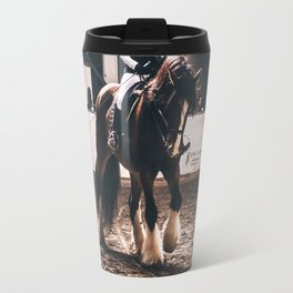 Dressage Shire Travel Mug