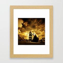 Golden Memoirs Framed Art Print