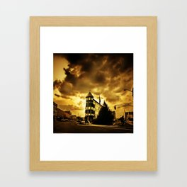 Golden Memoirs Framed Art Print