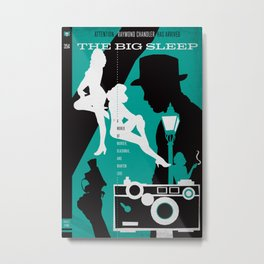 Hardboiled :: The Big Sleep :: Raymond Chandler Metal Print