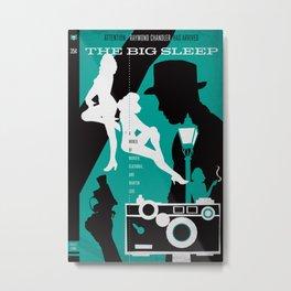 Hardboiled :: The Big Sleep :: Raymond Chandler Metal Print