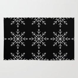 Give Me a Black & White Christmas - 2 Rug
