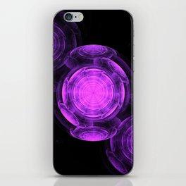 Purple Vortexes of Vortexes of Vortexes iPhone Skin