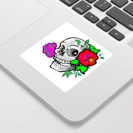 60's Skully Sticker