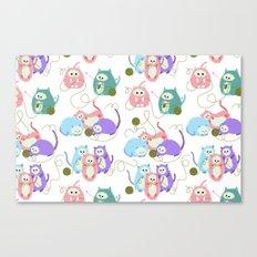 3 Little Kittens Canvas Print