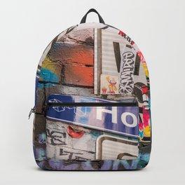 Hosier Lane Street Graffiti Melbourne Printable Wall Art | Australia Urban City Photography Print Backpack