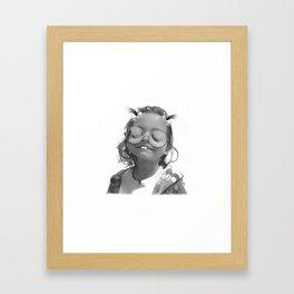 Char-Boogie Bliss Framed Art Print