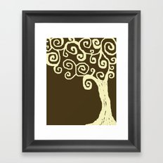 Jude's Tree Framed Art Print