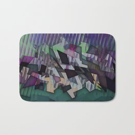 Storm over the country Bath Mat