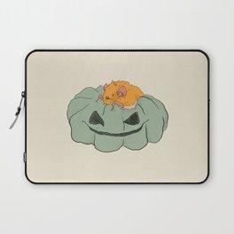 Little bat on a pumpkin Laptop Sleeve