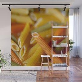 Orange Pasta Wall Mural