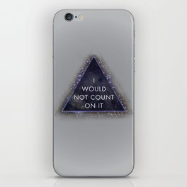Magic Eight Ball, I Would Not Count On It iPhone Skin