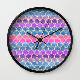 Lovely Pattern VI (Glitter Version) Wall Clock