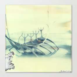 Sólfar The Sun Voyager - Reykjavik, Iceland Canvas Print