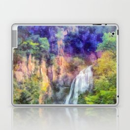 Mountain waterfall Laptop & iPad Skin