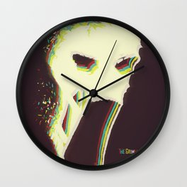 The Vaporized Grimm Wall Clock
