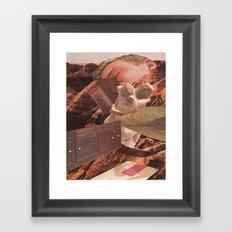 comforts of home Framed Art Print