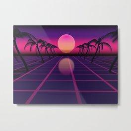 retrofuture Metal Print