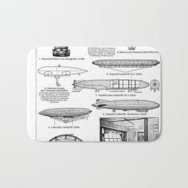 Airships / Air Balloons II Bath Mat