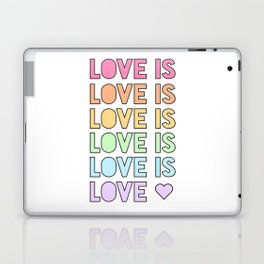 LOVE IS LOVE Laptop & iPad Skin