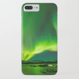 Northern Lights In Iceland iPhone Case