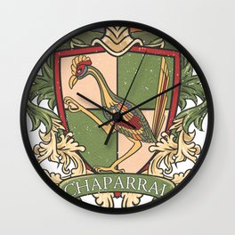 Small Logo - Chaparral Elementary School Wall Clock